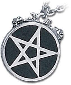 obojek Roseus Pentagram - ALCHEMY GOTHIC - P182