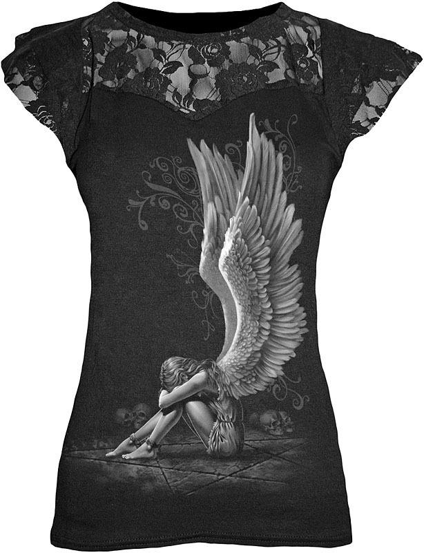 tričko dámské SPIRAL - Enslaved Angel - D024F721