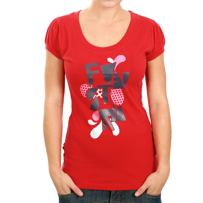 tričko dámské FUNSTORM - Tulip - 24 RED