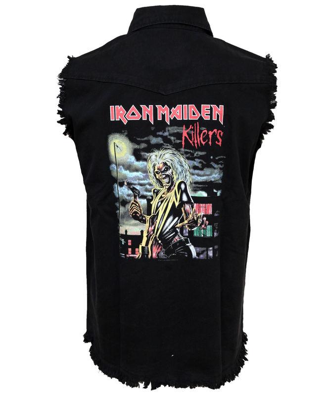 vesta pánská Iron Maiden - Killers - WS025 - RAZAMATAZ