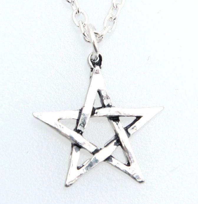 obojek Pentagram ALCHEMY GOTHIC - P58