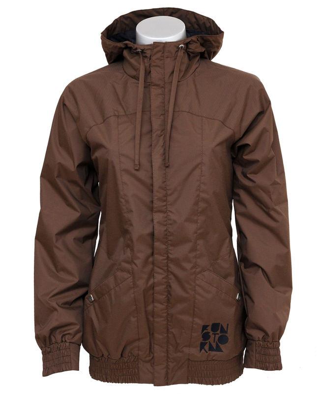 bunda dámská jarně-podzimní FUNSTORM - Ninah H - 04 BROWN