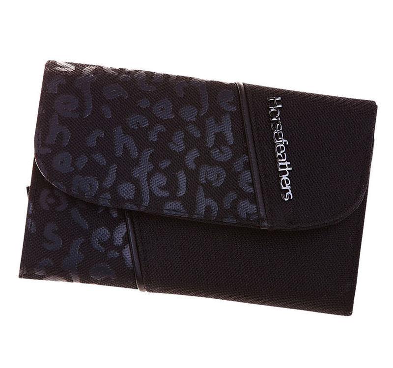 peněženka HORSEFEATHERS - Pickpocket - BLACK