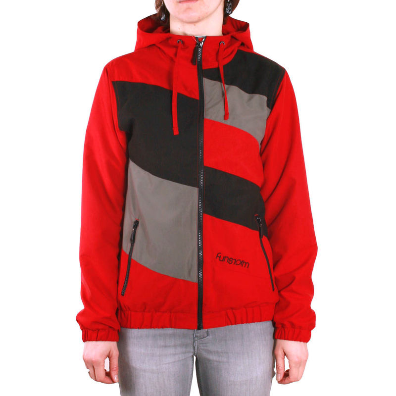bunda dámská jarně-podzimní FUNSTORM - Waddy - 24 RED