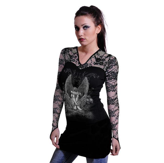 tričko dámské dlouhý rukáv SPIRAL