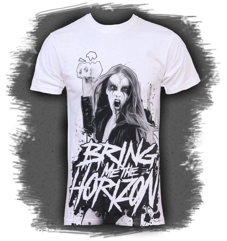 tričko pánské Bring Me The Horizon - Black Metal - BRAVADO - BMH1022