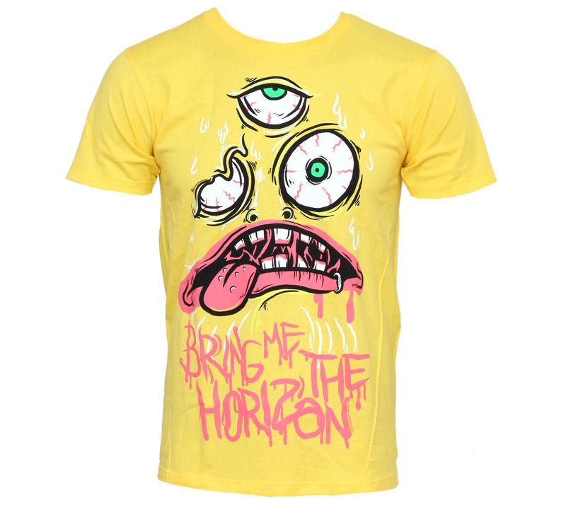 tričko pánské Bring Me The Horizon - KK Yellow - BRAVADO - BMH1035