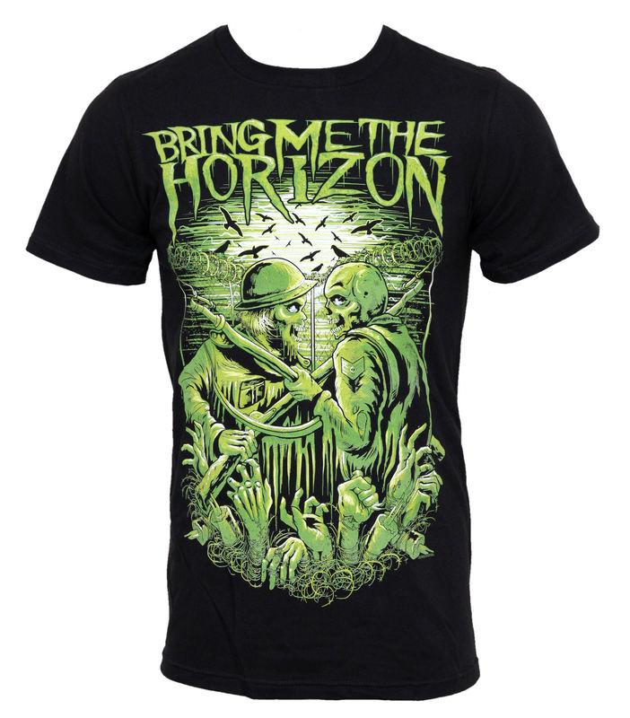 tričko pánské Bring Me The Horizon - WWIII Limited - BRAVADO - BMH1040