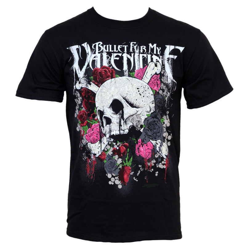 BRAVADO Bullet For my Valentine Skull And Roses černá