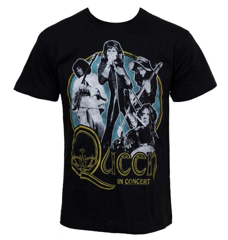 tričko pánské Queen - In Concert - BRAVADO - QEN1000