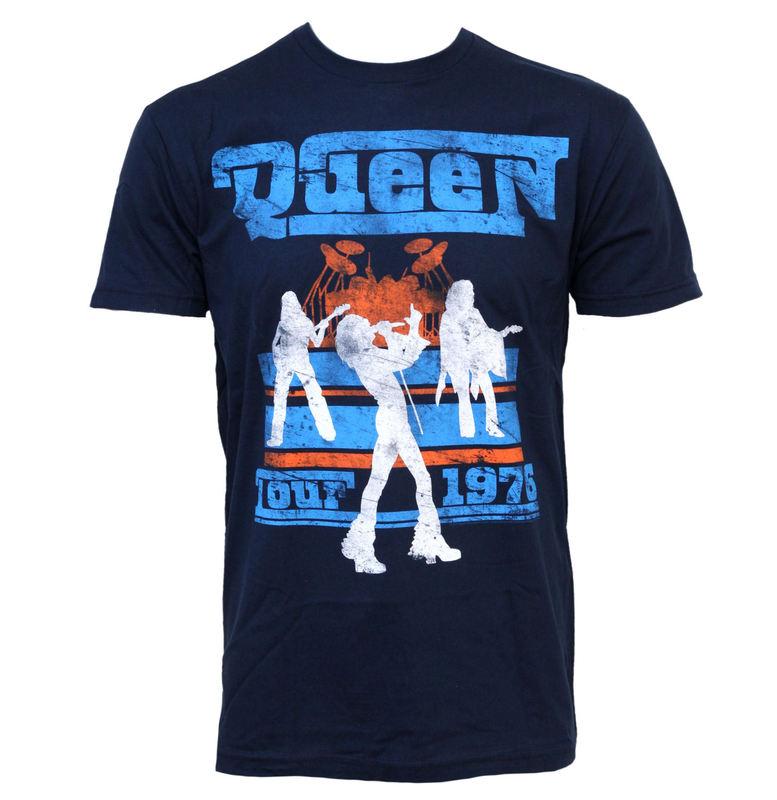 tričko pánské Queen - Tour 76 - BRAVADO - QEN1004