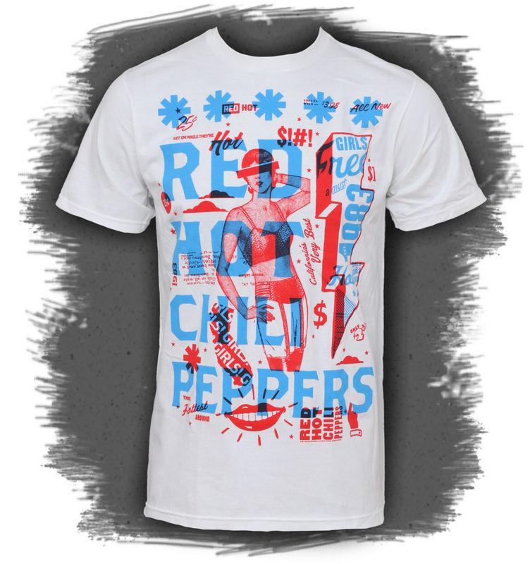tričko pánské Red Hot chili Peppers - Multiply - BRAVADO -14531134