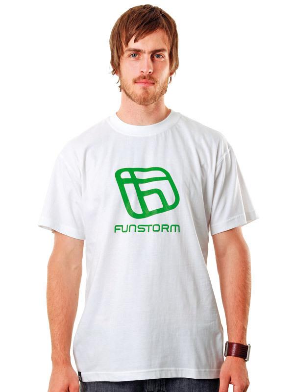 tričko pánské FUNSTORM - I.D. - 31 WHITE