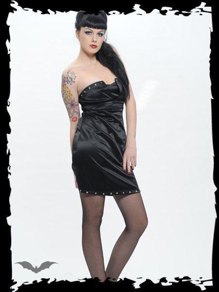 šaty dámské QUEEN OF DARKNESS - DR1-073/10 M