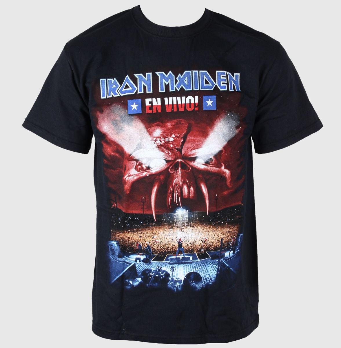 tričko pánské Iron Maiden - En Vivo - EMI - IMTEE16MB