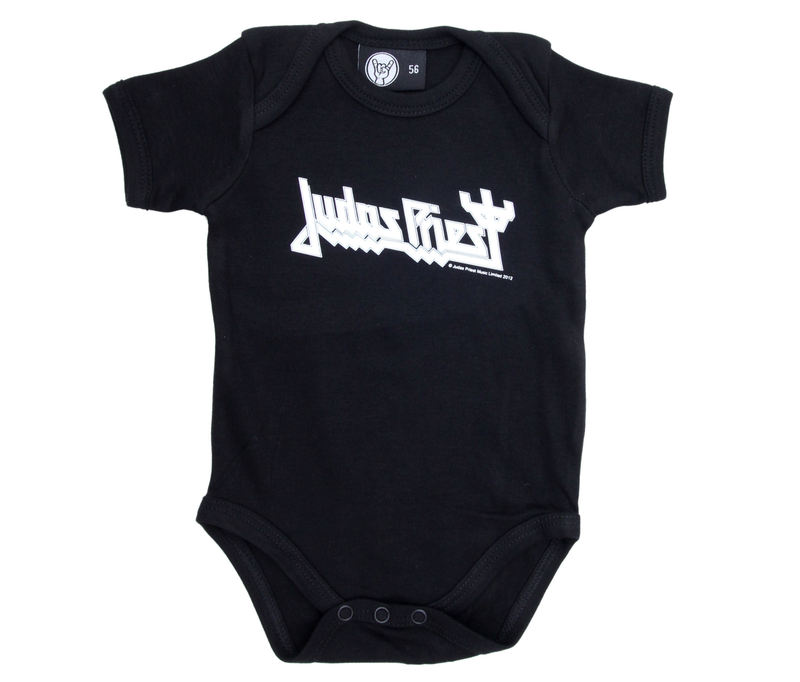 body dětské Judas Priest - Logo - Black - Metal-Kids