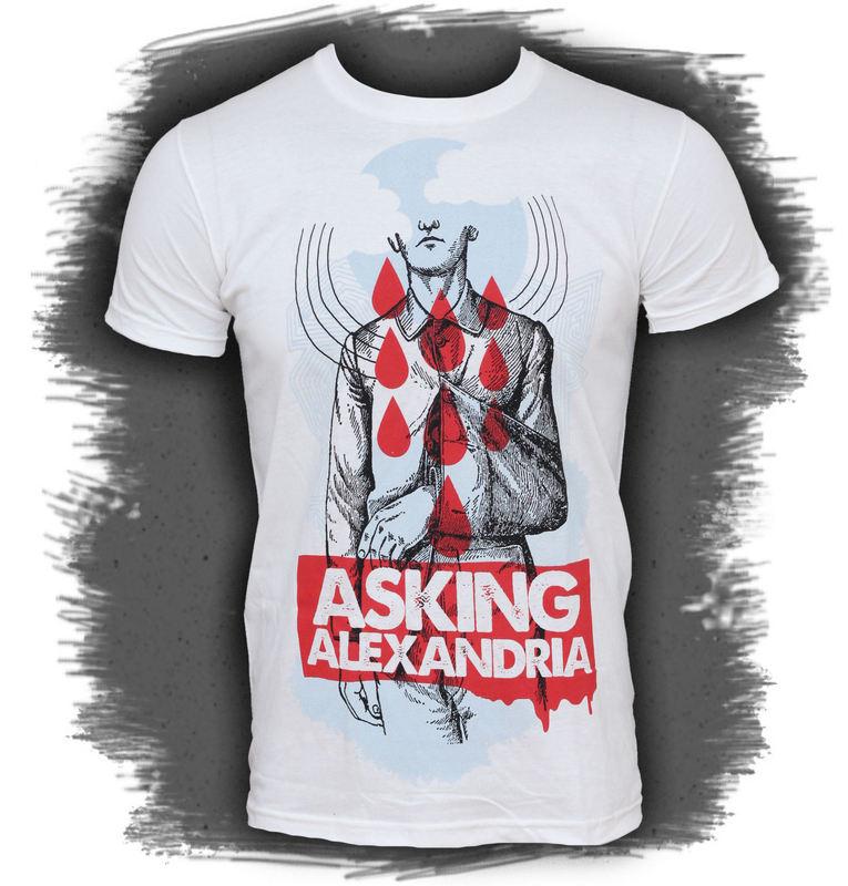 tričko pánské Asking Alexandria - Wayne - PLASTIC HEAD - PH5794
