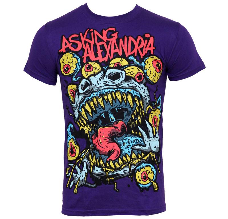 tričko pánské Asking Alexandria - Eyeballs - PLASTIC HEAD - PH5926