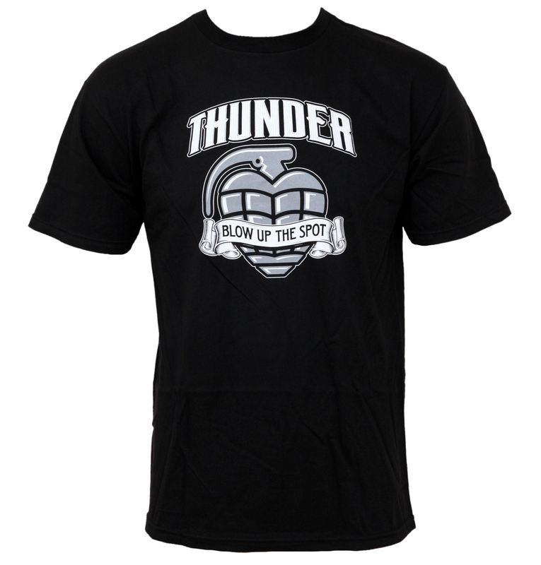 tričko pánské THUNDER - Blow Up - Black