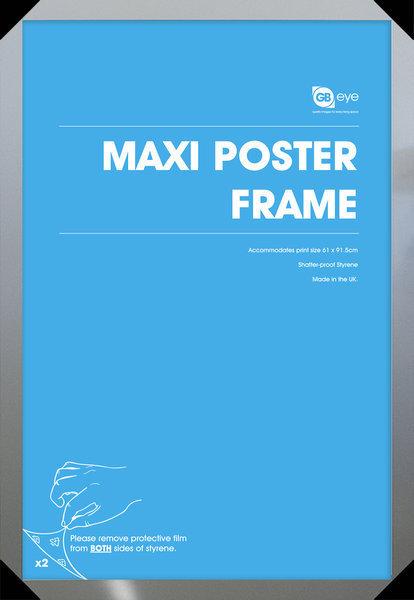 rám na plakát (61x91,5 cm) - Silver - GB Posters - FMMXA1SL