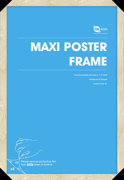 rám na plakát (61x91,5 cm) - Beech - GB Posters - FMMXA1BH