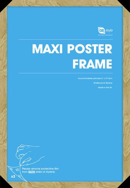 rám na plakát (61x91,5 cm) - Oak - GB Posters - FMMXA1OK