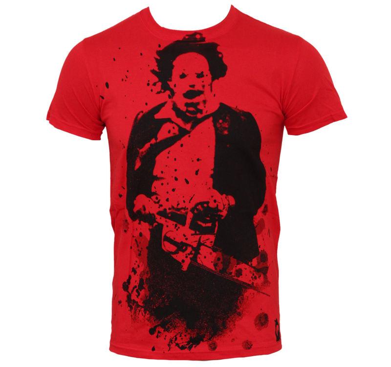 tričko pánské Texas Chainsaw Massacre - Red - PLASTIC HEAD - PH7229