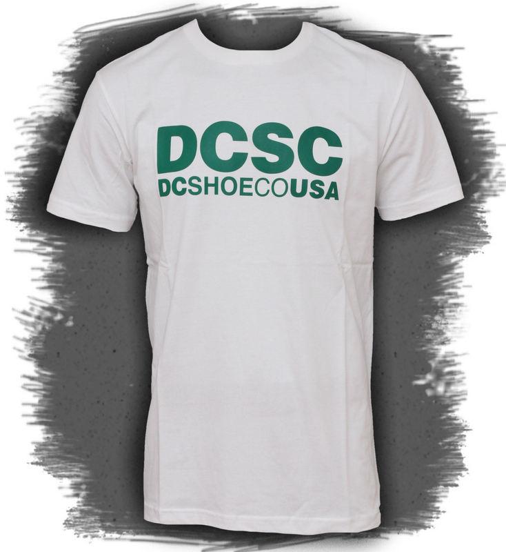 tričko pánské DC - DPMJE072 - WHTD-WHITE