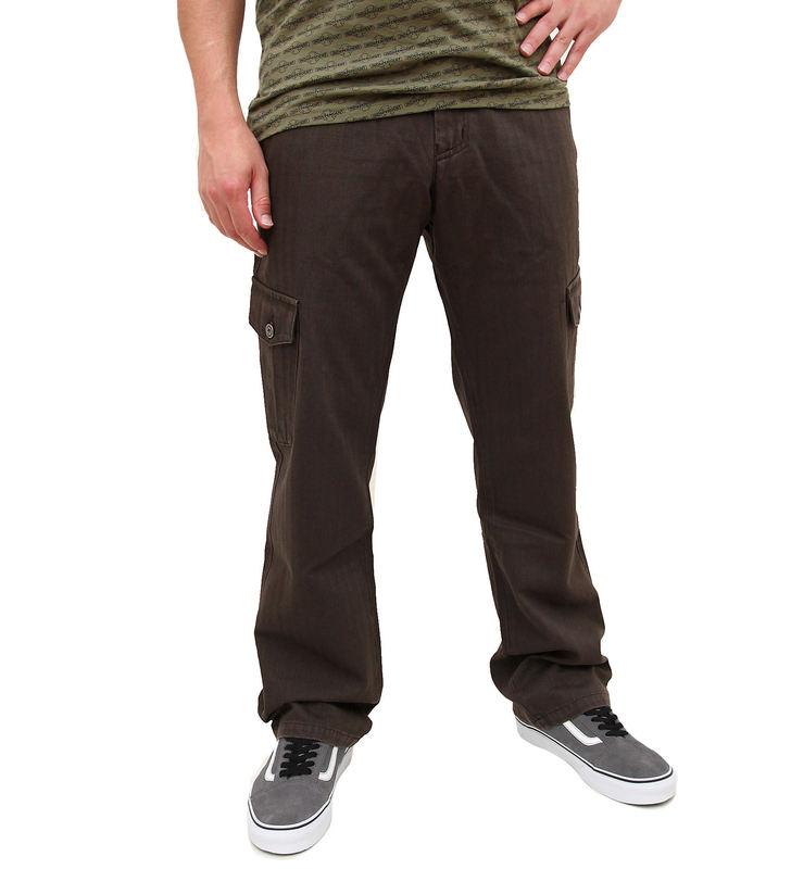 kalhoty pánské FUNSTORM - Leal - 04 hnědá