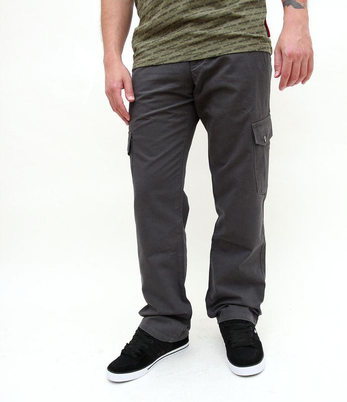kalhoty pánské FUNSTORM - Leal - 20 tm.šedá