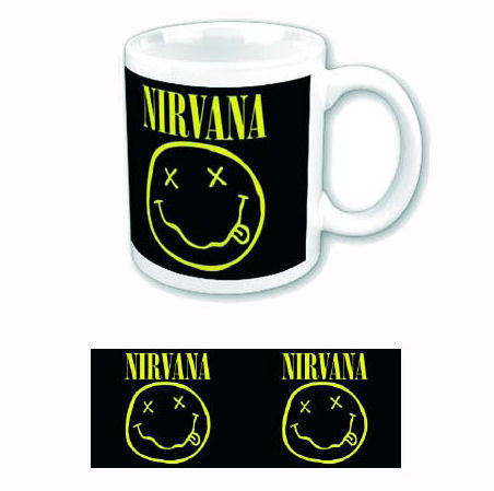 hrnek Nirvana - Keep Smiling - ROCK OFF - NIRVMUG01