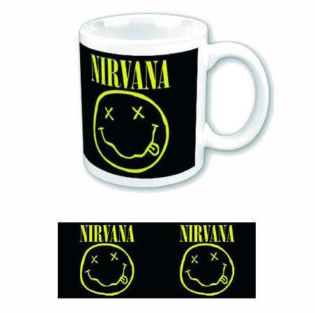 hrnek Nirvana - Keep Smiling - ROCK OFF - NIRVMUG01