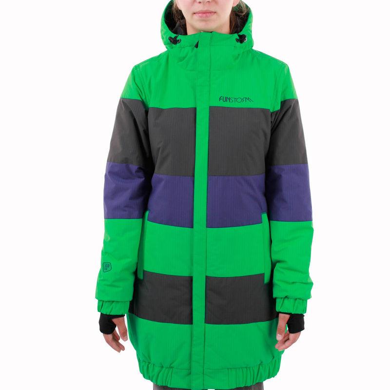 bunda -kabátek- dámská zimní FUNSTORM - Dease - 07 GREEN