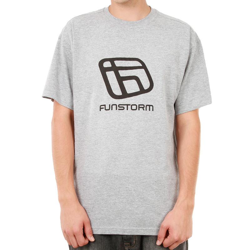tričko pánské FUNSTORM - I.D. - 19 GREY