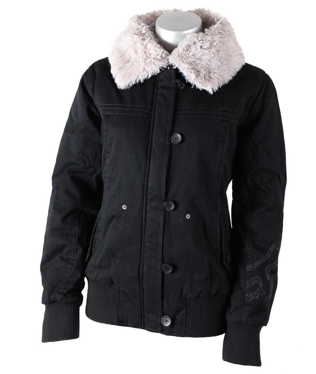 bunda dámská zimní -látková- FOX - Ryder - BLACK
