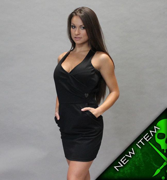 šaty dámské SULLEN - Rachel - Blk S