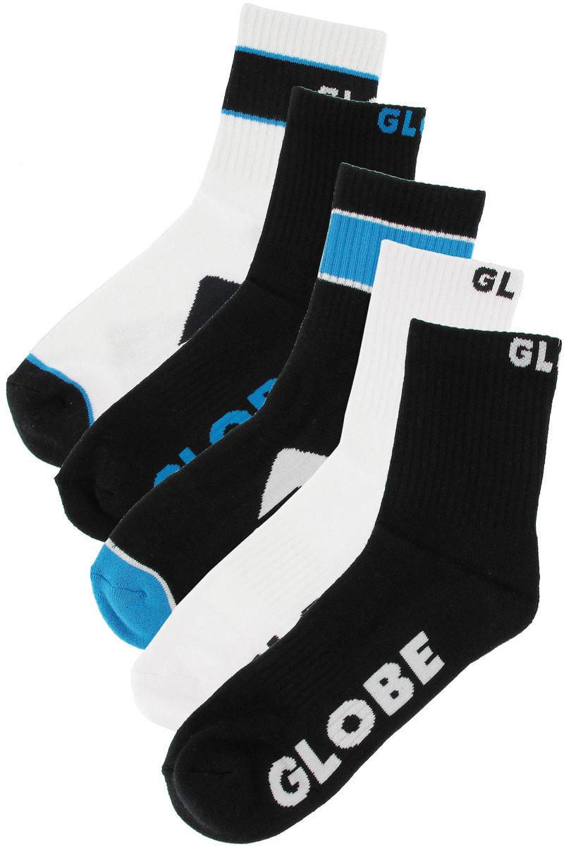 ponožky -set 5 párů- GLOBE - Destroyer - BLK