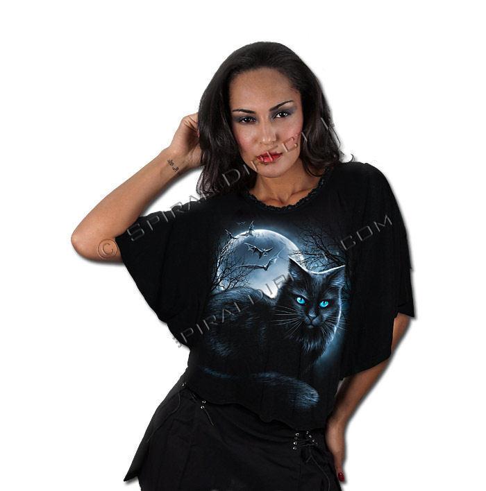 tričko dámské (pončo) SPIRAL - Mystical Moonlight - FM129291