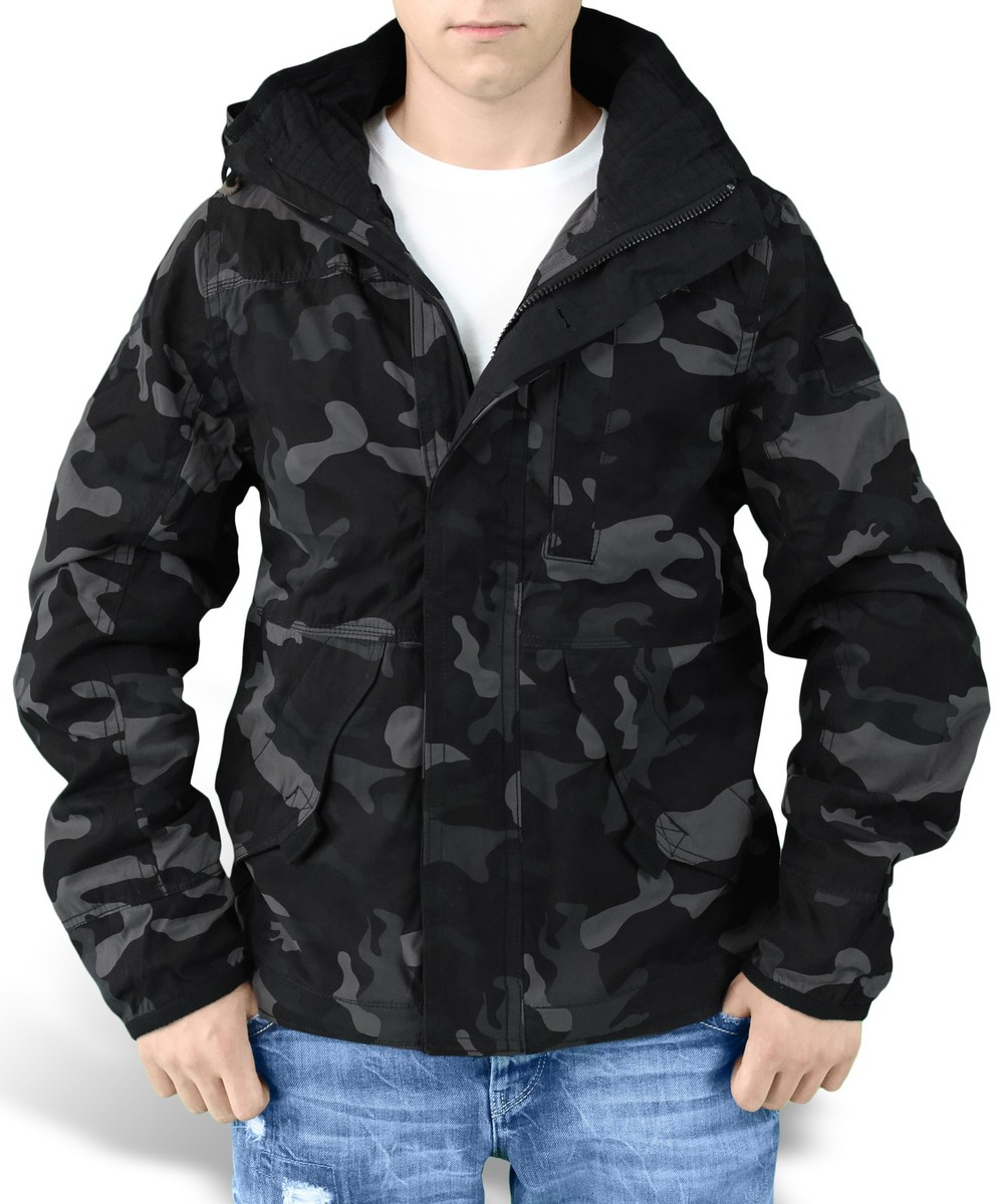 bunda pánská SURPLUS - New Savior - Black Camo - 20-3590-42