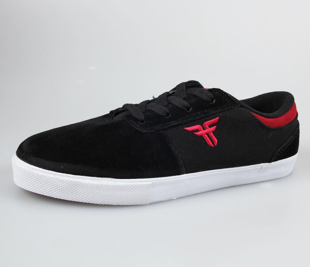 boty pánské FALLEN - Vice - Black/Red - 41070059