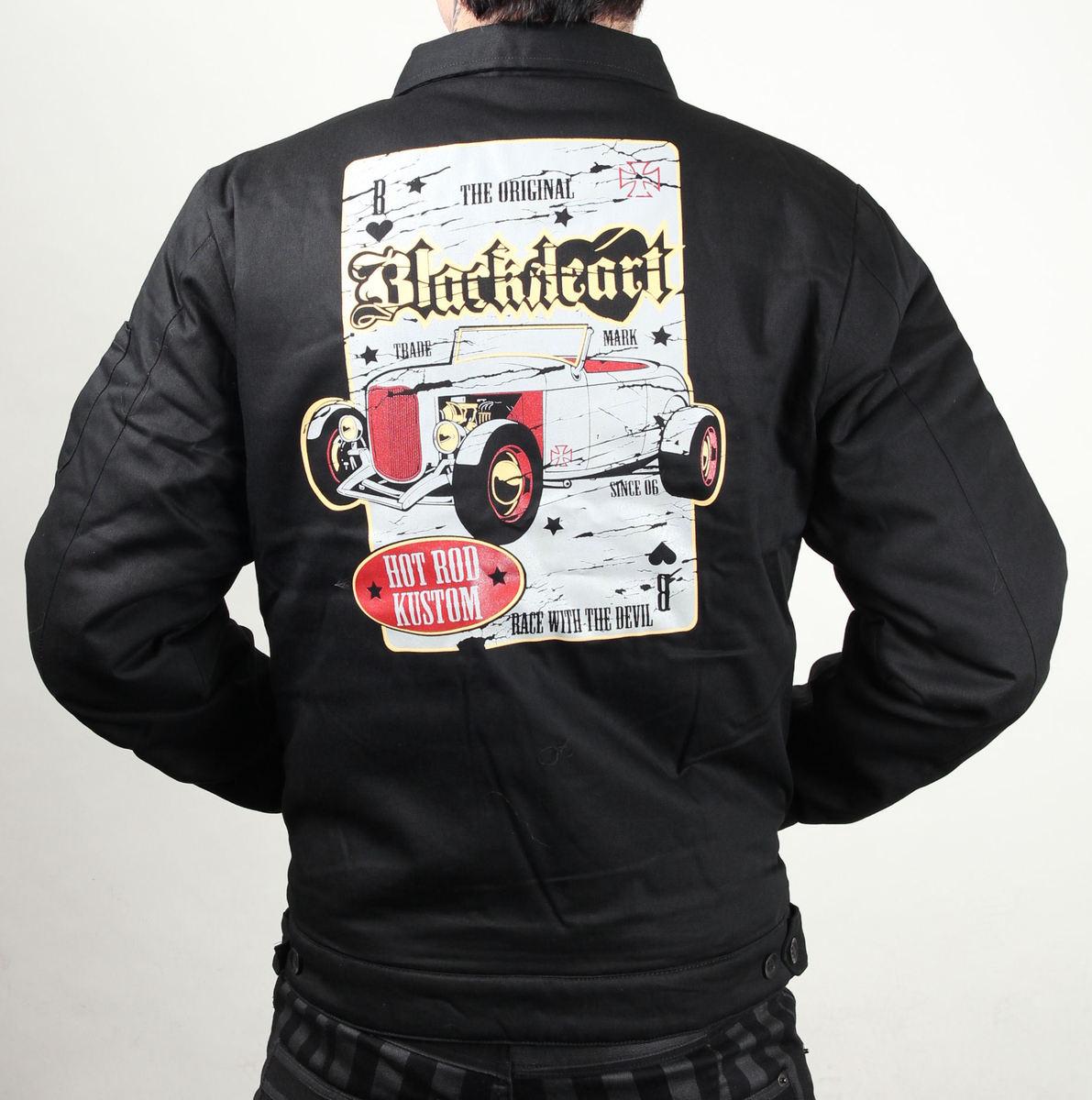 bunda pánská jarně-podzimní BLACK HEART - Death Rod - Black