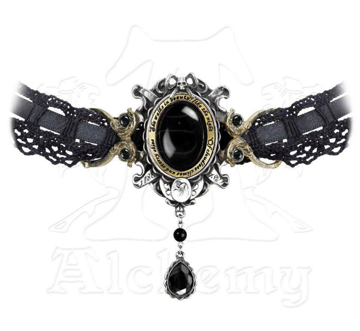 obojek She Walks In Beauty - ALCHEMY GOTHIC - P640