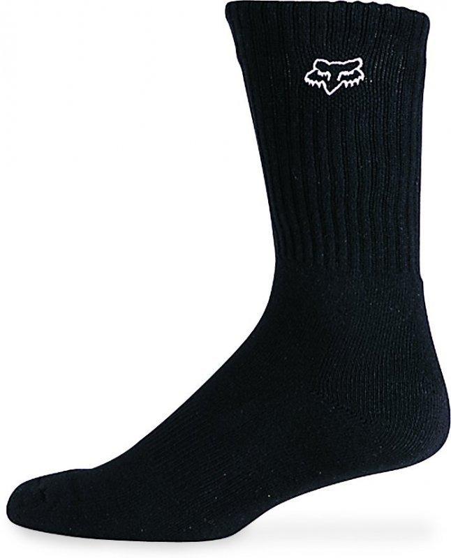 ponožky FOX - Singles - Black