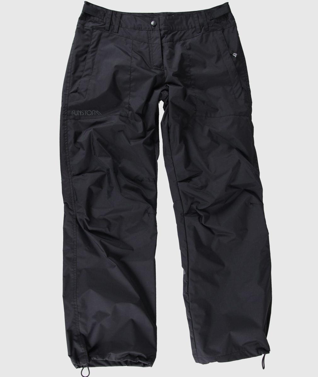 kalhoty dámské (šusťáky) FUNSTORM - Hecla - 21 Black