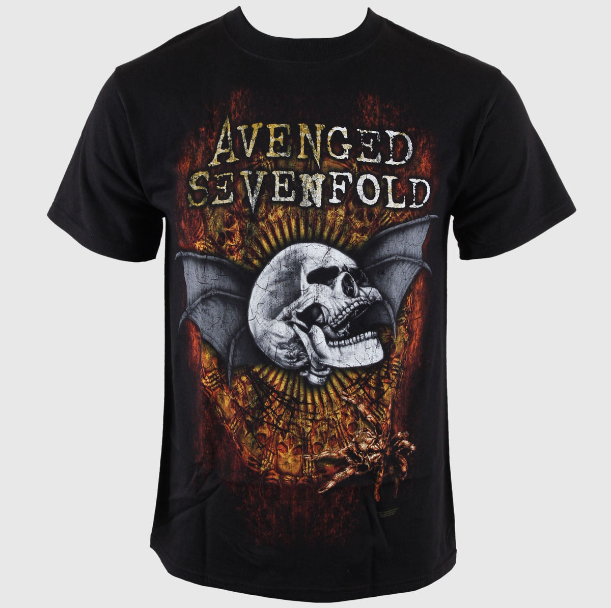 BRAVADO Avenged Sevenfold Through The Fire černá
