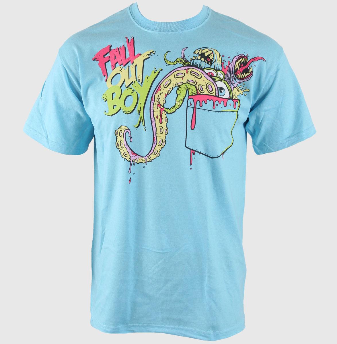 tričko pánské Fall Out Boy - Pocket - BRAVADO - FOB1000
