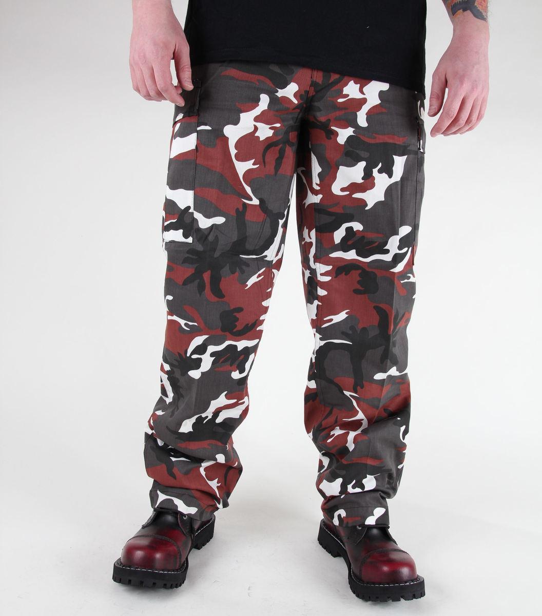 kalhoty pánské MIL-TEC - US Ranger Hose - BDU Red Camo - 11810082