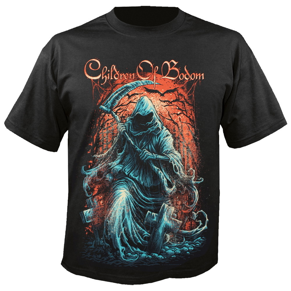 tričko pánské Children Of Bodom - Grim Reaper - NUCLEAR BLAST - 206487