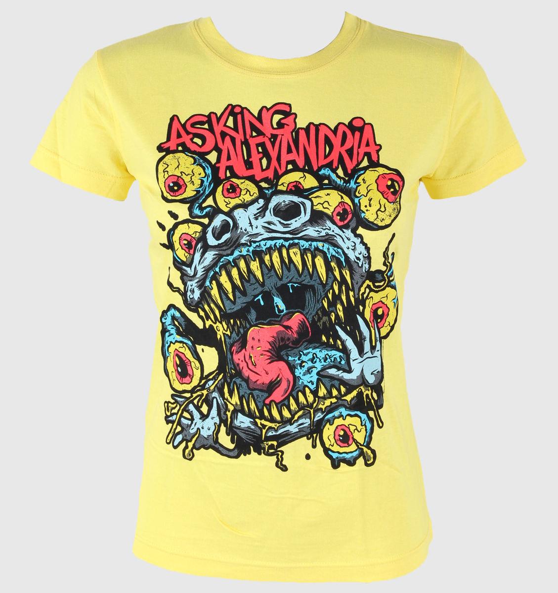 tričko dámské Asking Alexandria