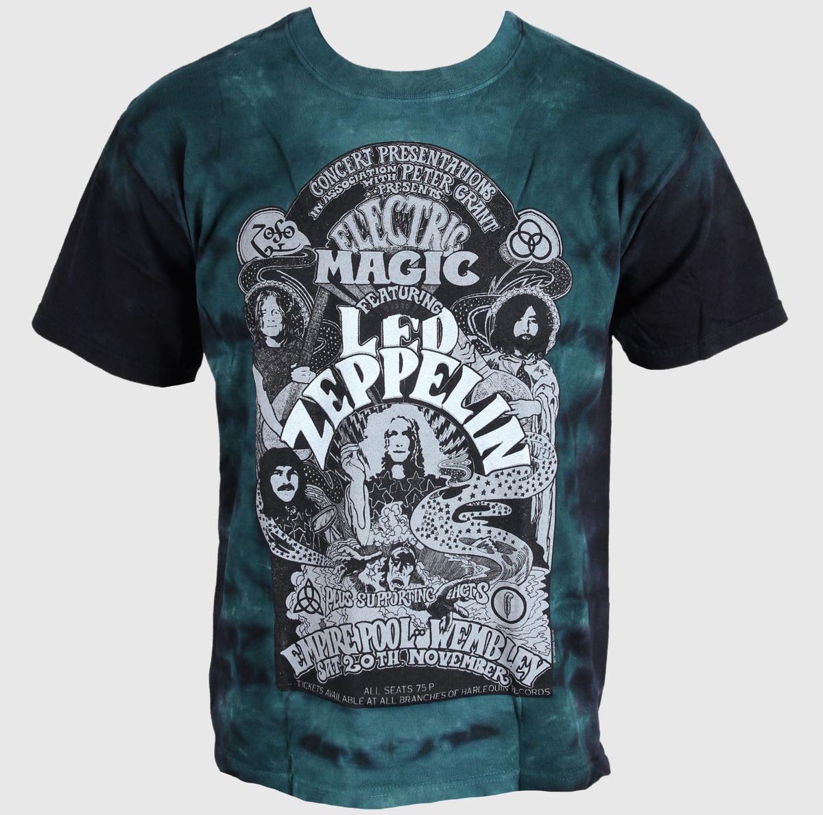 tričko pánské Led Zeppelin - Electric - LIQUID BLUE - 11821